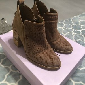 Madden Girl Ankle Boot- Brown, Size 7